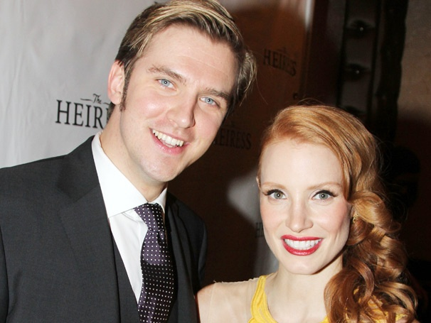 Its a Dazzling Opening Night for Jessica Chastain, Dan Stevens & the Cast of The Heiress