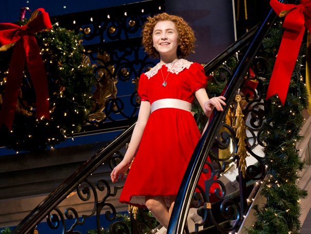 I Think Im Gonna Like It Here! Annie Opens at Broadways Palace Theatre  