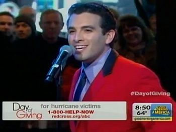 Watch Jersey Boys Stars Perform for Hurricane Sandy Victims on Good Morning America