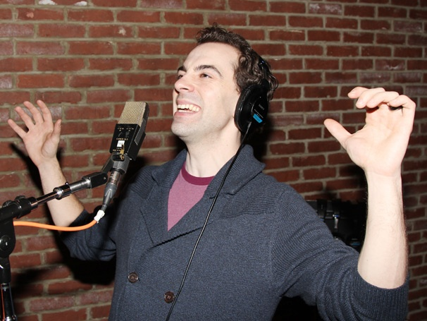 Just Another Day on Broadway! See Rob McClure, Jenn Colella & More Record the Chaplin Cast Album