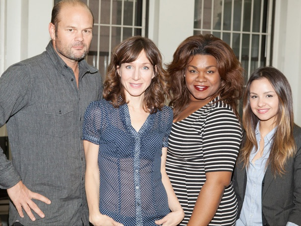 Get Patriotic With Chris Bauer, Da'Vine Joy Randolph and the Stars of What Rhymes With America in Rehearsal