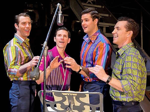 Watch the Four Seasons Come Alive on Stage in Scenes From Jersey Boys on Tour