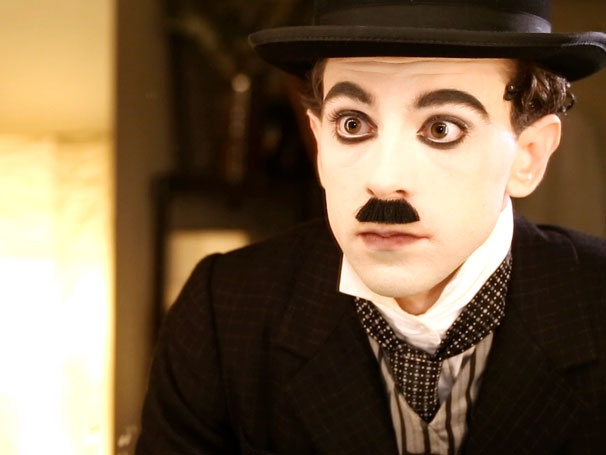 Watch Rob McClure's Cane-Swinging, Tightrope-Walking Chaplin Metamorphosis