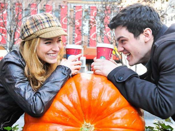 Share a Pumpkin Latte With Mamma Mia! Star Christy Altomare & Her Broadway Bestie Bob Lenzi