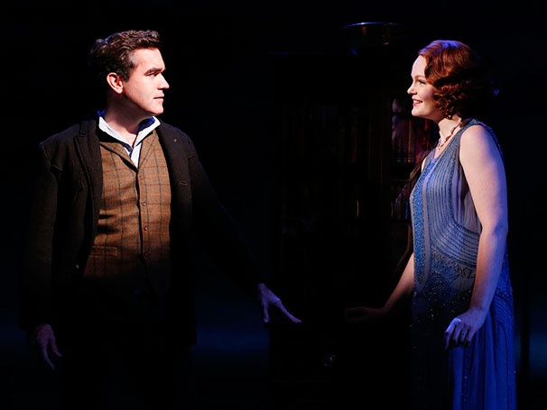 Wrangle Up a First Look at Giant, Starring Brian d'Arcy James and Kate Baldwin