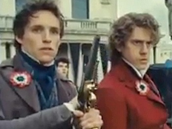 Watch Aaron Tveit, Eddie Redmayne & More Head to Battle in Extended Les Miserables Trailer