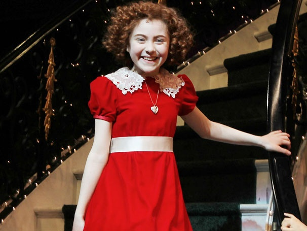 Onstage Injury Sidelines Annie Title Star Lilla Crawford