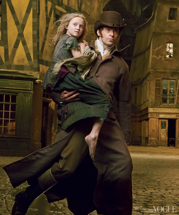 Hugh Jackman Suits Up in His 19th Century Finest for Vogue's Flashy Les Miserables Photo Shoot