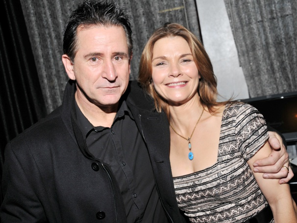 Anthony LaPaglia & Kathryn Erbe Celebrate Opening Night as Richard and Pat Nixon in Checkers