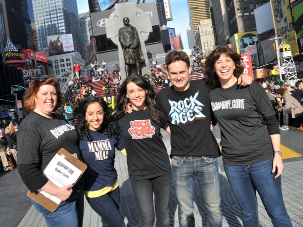 Sweet! Stage Stars Pitch In to Promote the Broadway.com Bake Sale for Hurricane Relief
