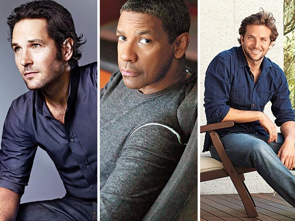 Hot Men Alert! Paul Rudd, Denzel Washington, Bradley Cooper & More Among People's Sexiest Men Alive List