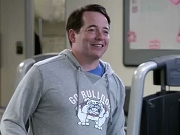 Check Out a Sneak Peek of Nice Work's Matthew Broderick Making a Date With Ty Burrell on Modern Family