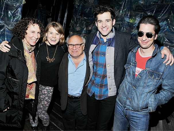 Danny DeVito & Rhea Perlman Enjoy Their Voyage at Peter and the Starcatcher