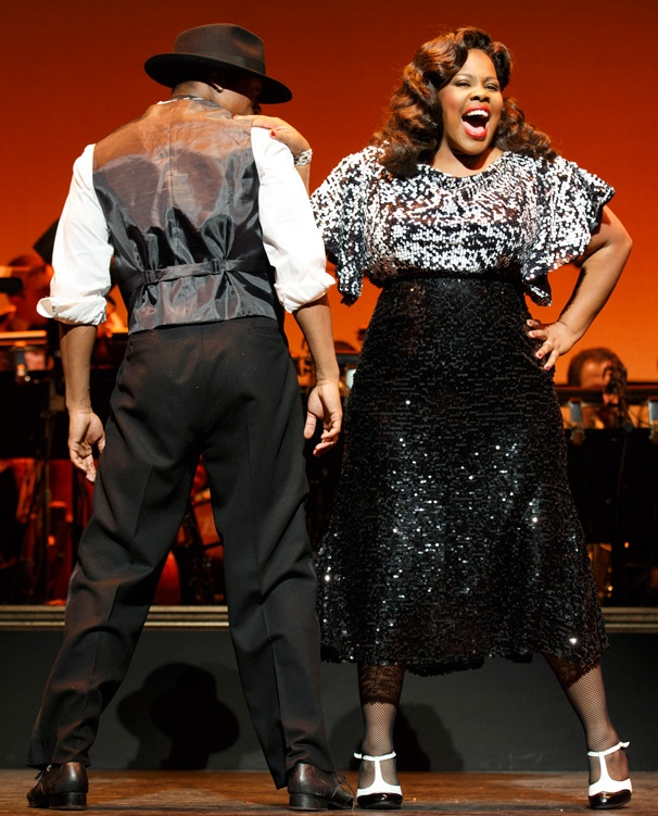 Hot Stuff! Get a Swingin' Look at Amber Riley & Joshua Henry in Cotton Club Parade