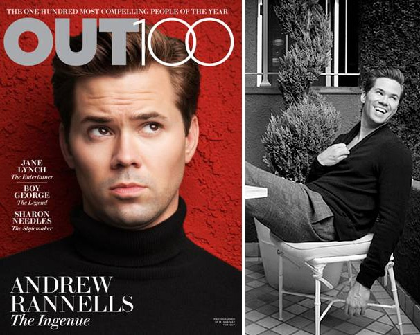 Andrew Rannells Lands on the Cover of Out Magazine's 'Out 100' Issue