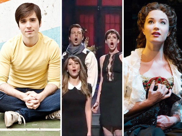 Top 10! Readers Flock to Starry Stories on Matt Doyle, Anne Hathaway, Sierra Boggess & More