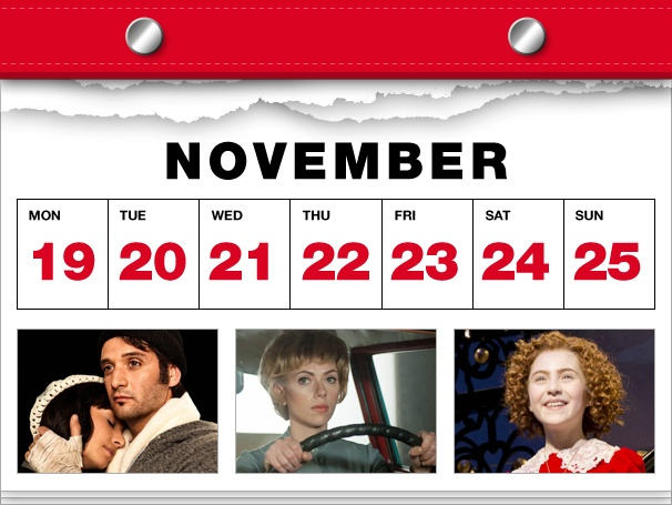 Rocky Enters the Ring, Hitchcock Creeps into Theaters and Broadway Takes Over Thanksgiving in This Week's Datebook