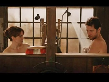 Watch Grace Star Paul Rudd Hit the Showers with Tina Fey in Admission Trailer