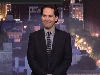 The Top 10 Reactions to a Puking Audience Member? Grace Star Paul Rudd Counts 'Em Down