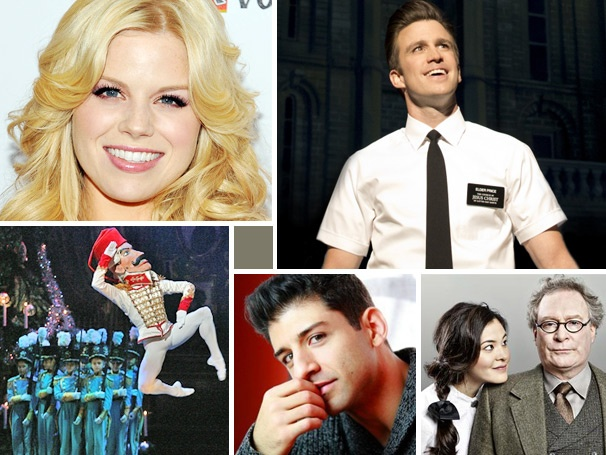 Megan Hilty Joins the Rat Pack, Tony Yazbeck Plays in the Rain & More Cross-Country News