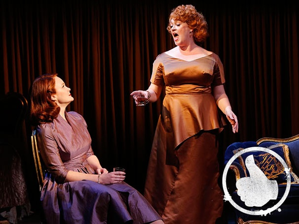 Thumbs Up! Off-Broadway's Giant Finds a Priceless Pair of Strong Texas Women in Kate Baldwin and Katie Thompson