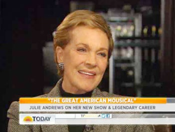Watch Julie Andrews Discuss Her Broadway 'Dream' for The Great American Mousical on Today