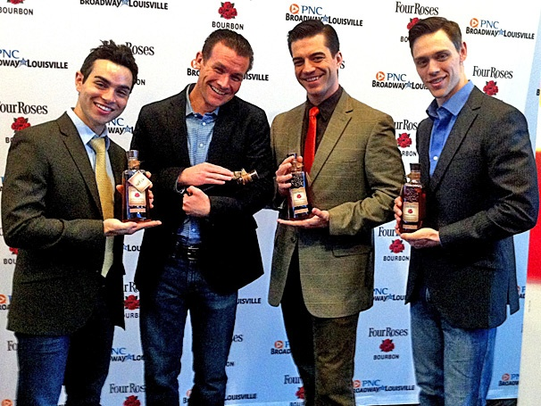 The Dashing Stars of the Jersey Boys National Tour Toast to Opening Night in Louisville