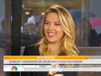 Watch Cat on a Hot Tin Roof's Scarlett Johansson Take Over Al Roker's Job on Today