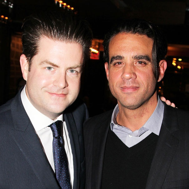 Glengarry Star Bobby Cannavale and Broadway.com's Paul Wontorek Suit Up for a Snazzy Actors Fund Event