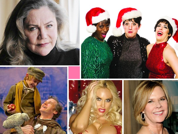 Drag Queens Spread Christmas Cheer, Kathleen Turner is a Naughty Nun & More Cross-Country News