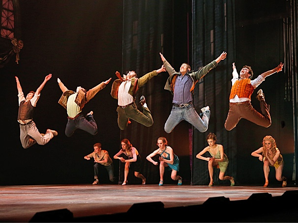 Take a First Look at the New Stars of West Side Story Leaping Into Action on Tour 