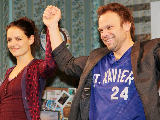 A Swanky and Stylish Opening Night for Katie Holmes and Norbert Leo Butz in Dead Accounts