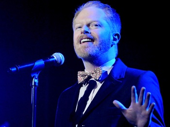Watch Jesse Tyler Ferguson Get Cold Feet Singing 'Getting Married Today' From Company With Laura Benanti & Barrett Foa