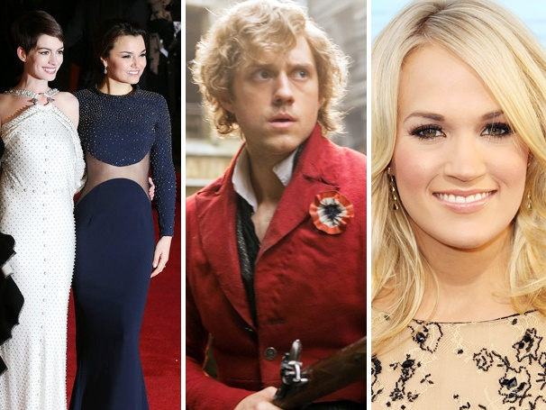 Top 10! Hot Stories of the Week Include Loads of Les Miz and Carrie Underwood's Sound of Music Plans