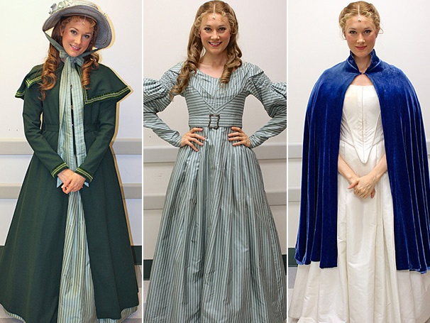 Lauren Wiley Models Her French Haute Couture as Cosette in Les Miserables on Tour