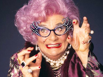 Dame Edna to Bring Farewell Engagement Eat Pray Laugh to the West End