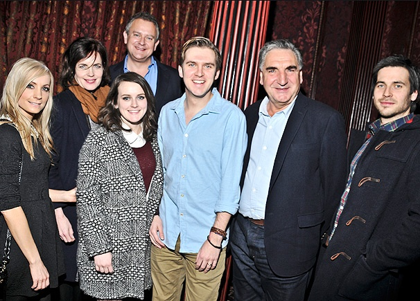 The Cast of Downton Abbey Takes a Royal Field Trip to See Dan Stevens in The Heiress