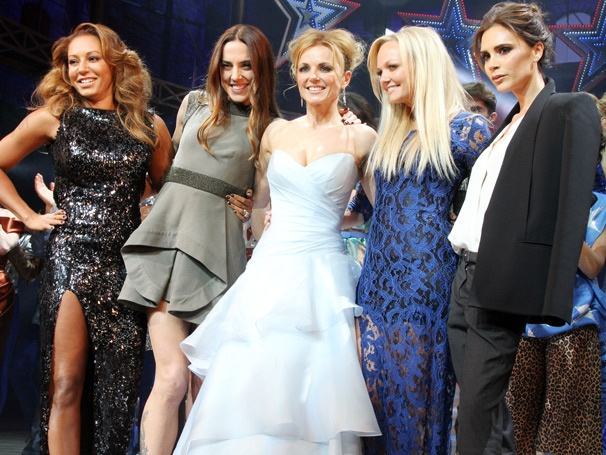 Spice Girls Reunion! On the Scene at the West End Opening Night of Viva Forever!