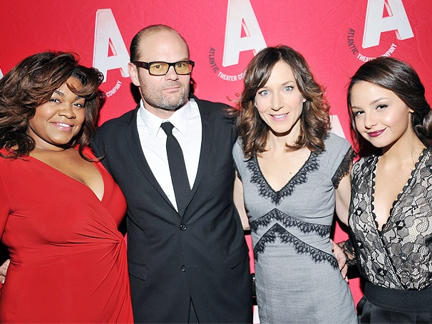 Da'Vine Joy Randolph, Chris Bauer & More Light Up Opening Night of What Rhymes With America
