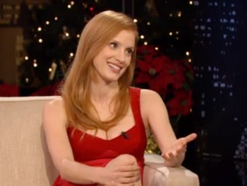 The Heiress' Jessica Chastain Talks Kicking Ass in Zero Dark Thirty on Chelsea Lately