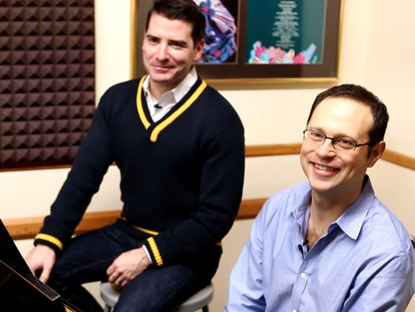 Broadway Buzz: Elf Songwriters Matthew Sklar and Chad Beguelin Share Tales of Their Jolly Score