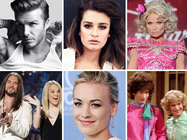 David Beckham Outspices Posh, Lea Michele's Proud of Her Pair and More Lessons of the Week 