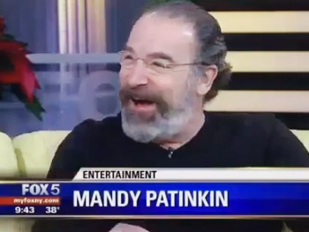 What a Mensch! See Mandy Patinkin Ditch a Homeland Scoop for Baby Freakout