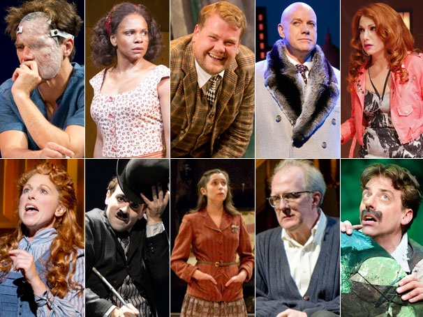  Broadway.com Names the 10 Best Performances of 2012