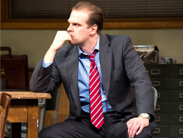 Glengarry's David Harbour on Having 'Fun' With Pacino, Letting Loose in The Newsroom & More