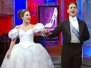 Cinderella Stars Laura Osnes and Santino Fontana Bring Fairytale Romance to Fox & Friends