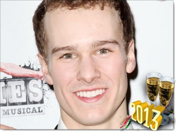 Newsies' Ryan Steele Looks to Olympian Gabby Douglas for Resolution Inspiration