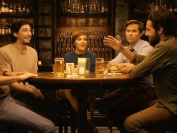 Andrew Rannells, Adam Driver and the Guys of HBO's Girls Offer Up a Boozy Preview of Season Two