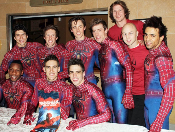 Reeve Carney & the Hunky Men of Spider-Man, Turn Off the Dark Line Up to Sign Their New Calendar  