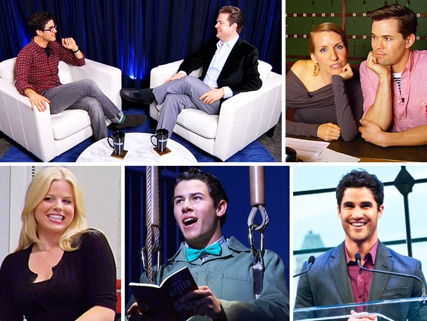 Nick Jonas in Rehearsal, Darren Criss on the Town & More Top the List of 2012's Most Watched Videos